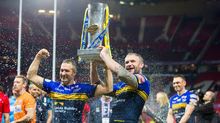 Danny McGuire and Jamie Peacock made our Super League team of the decade