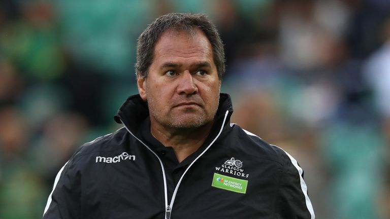 Rennie joined Glasgow Warriors in 2017 after five years with Super Rugby club Chiefs