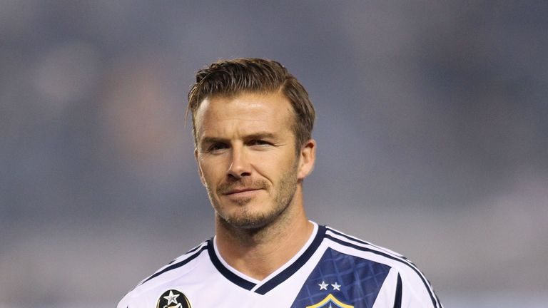 David Beckham's new MLS side Inter Miami's home debut will be against former side LA Galaxy