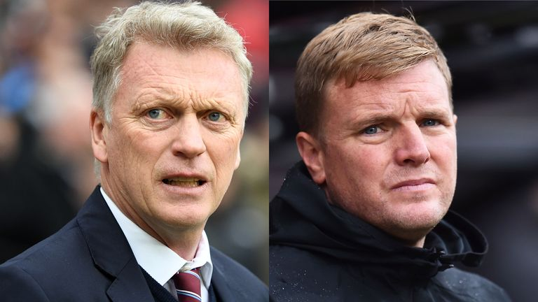 David Moyes and Eddie Howe have been tipped to replace Silva if he does leave Everton