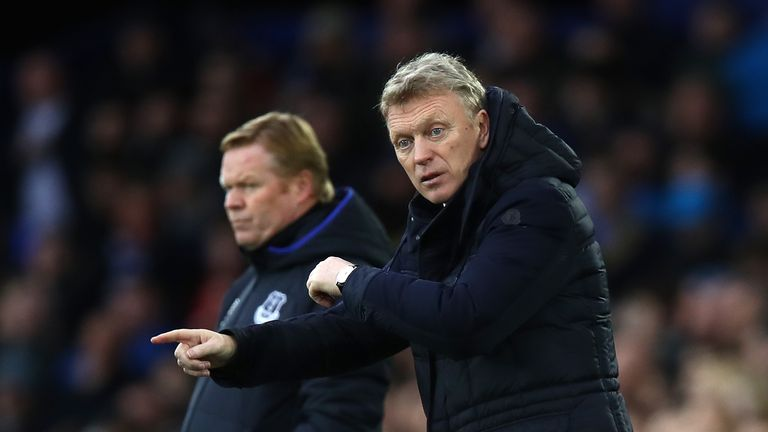 David Moyes spent 11 years at Everton before departing in summer 2013