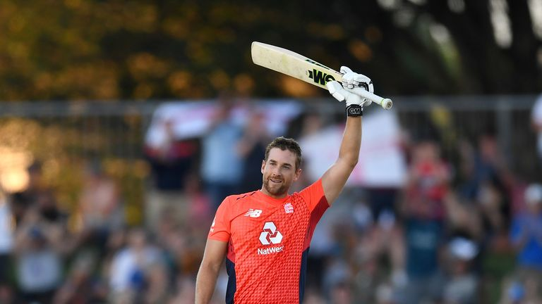 Dawid Malan is up to No 3 in the ICC's T20I batting rankings