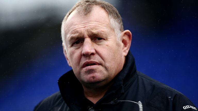Dean Richards is into his eighth year as director of rugby at Newcastle Falcons