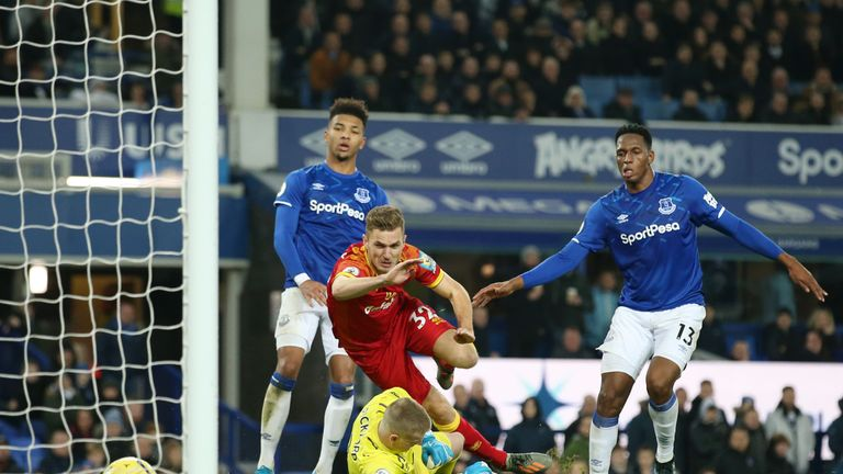 Dennis Srbeny seals an unlikely 2-0 win for Norwich last weekend at Goodison