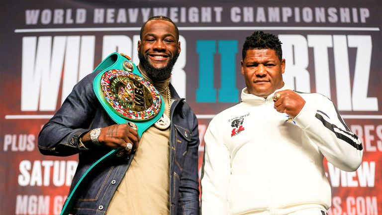 Wilder vs Ortiz, Sunday morning at 2am, live on Sky Sports Action