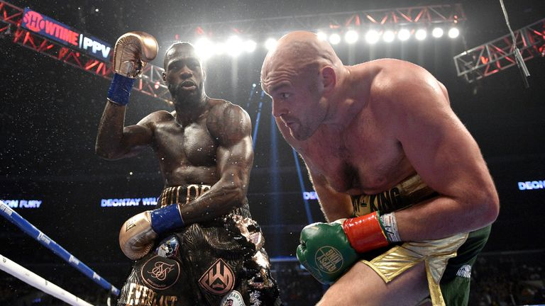Wilder and Fury plan a February rematch
