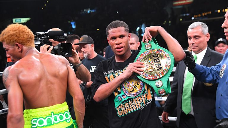 Devin Haney regained his status as WBC lightweight champion