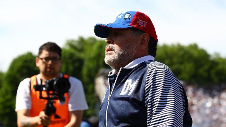 Diego Maradona says his daughter's words have been misunderstood