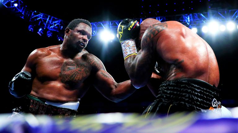 Whyte is predicting another destructive performance