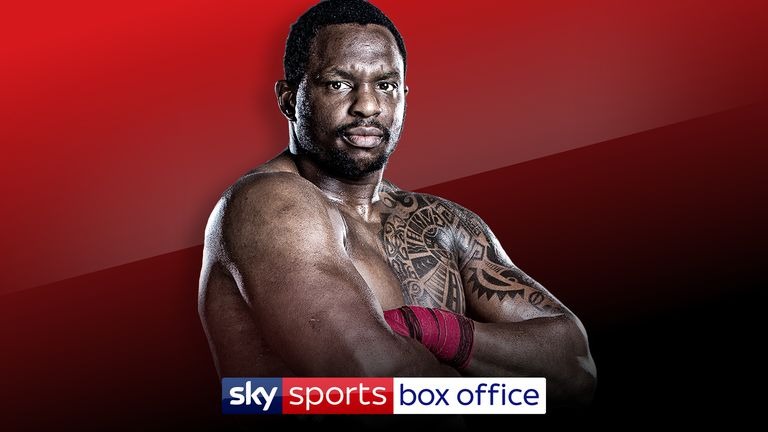 Dillian Whyte returns to action on the same bill in Saudi Arabia