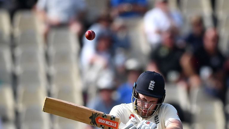 Sibley's top score in three Test innings is 22