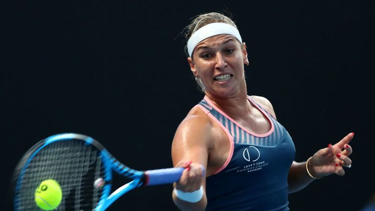 Dominika Cibulkova has retired from tennis