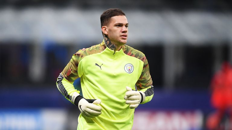 Ederson has been ruled out with injury