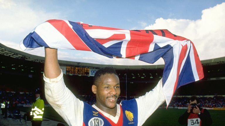 Ellery Hanley made a big-money move to Wigan in 1985