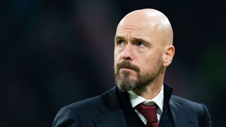 Erik ten Hag spent two years as coach of Bayern's reserve side