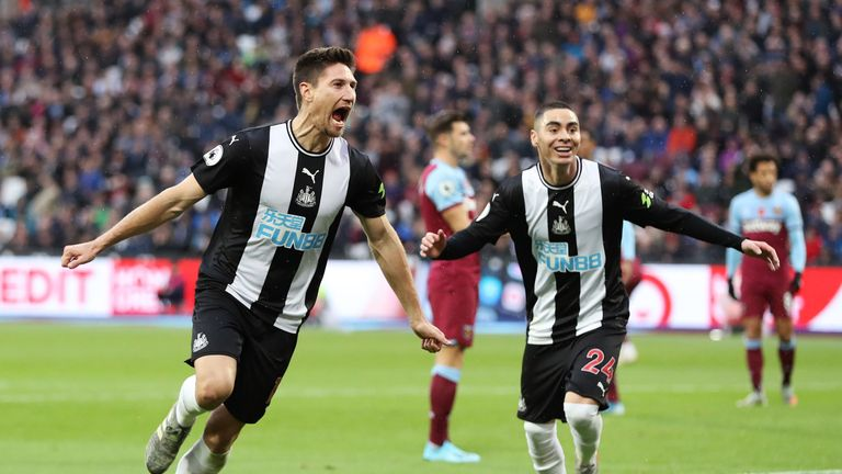 Newcastle United were good value for their win over West Ham this month