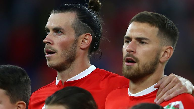 Gareth Bale and Aaron Ramsey started for Wales just once in 2019
