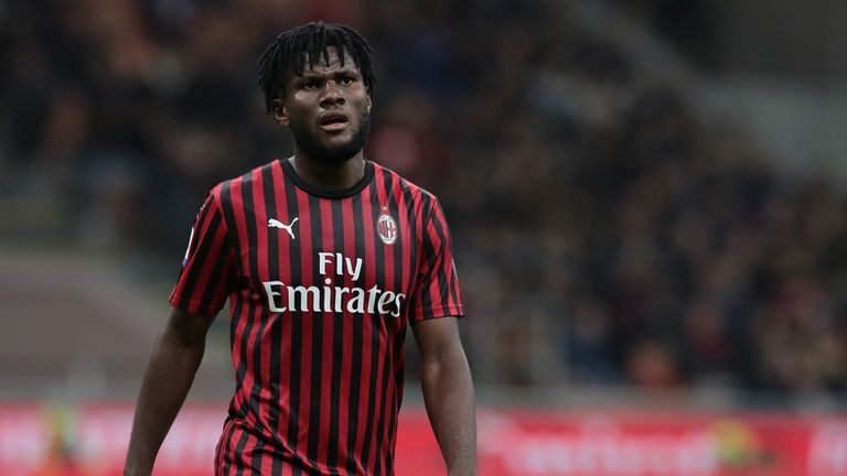 AC Milan's Franck Kessie has reportedly been on Arsenal's radar