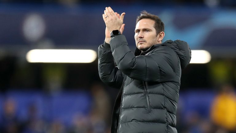 Frank Lampard guided Chelsea to a sixth consecutive win on Saturday