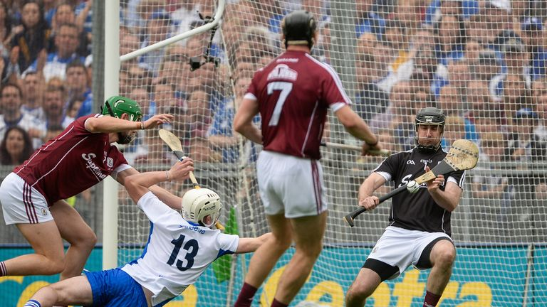 Callanan helped Galway edge Waterford in the 2017 All-Ireland final