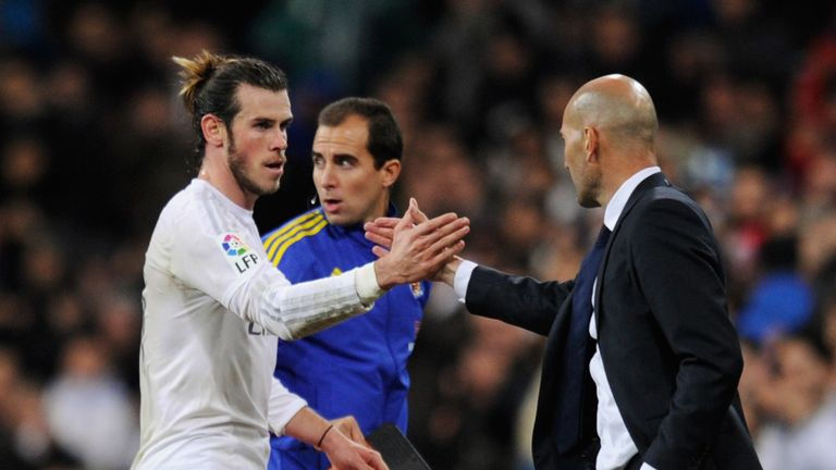 Bale's commitment to Real has been questioned