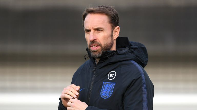 England manager Gareth Southgate is another man who would interest Spurs