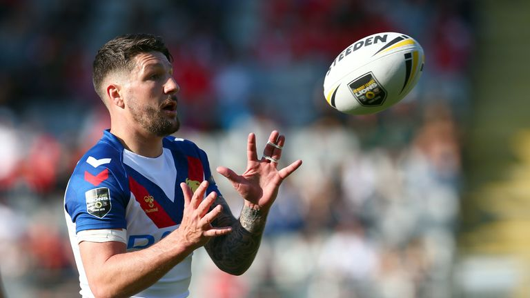 Gareth Widdop has joined Warrington after 10 seasons in the NRL