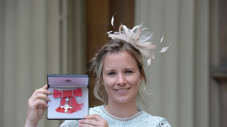 Hannah Mills received an MBE for services to sailing in 2017 and has now launched the Big Plastic Pledge, backed by the IOC