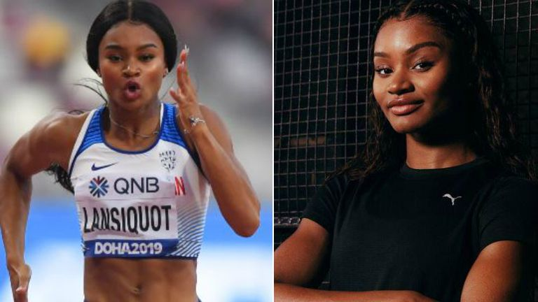 Imani Lansiquot says mistakes are helping to recharge her athletics career