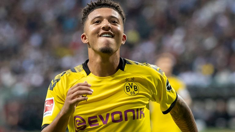 Sancho is a target for a host of top European clubs