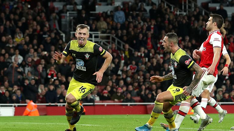 James Ward-Prowse has scored goals in Saints' last two Premier League games