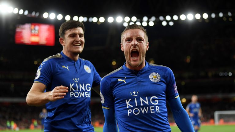 Jamie Vardy has eight goals in eight games against Arsenal - back him to score first