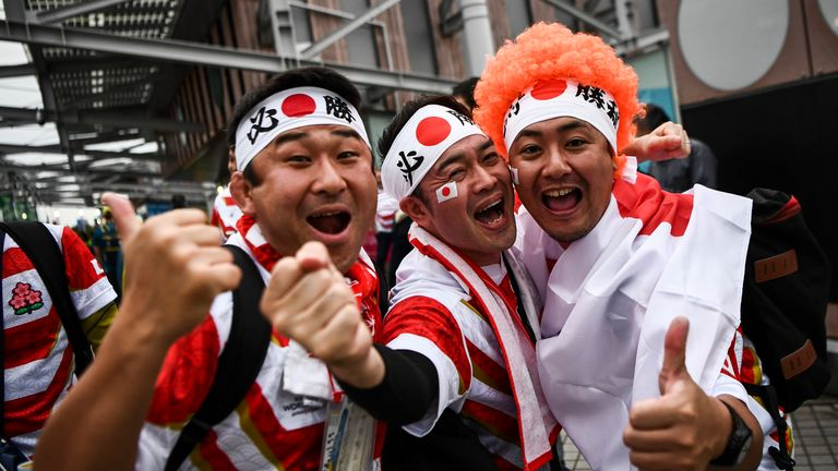 Japan embraced hosting the Rugby World Cup for the first time