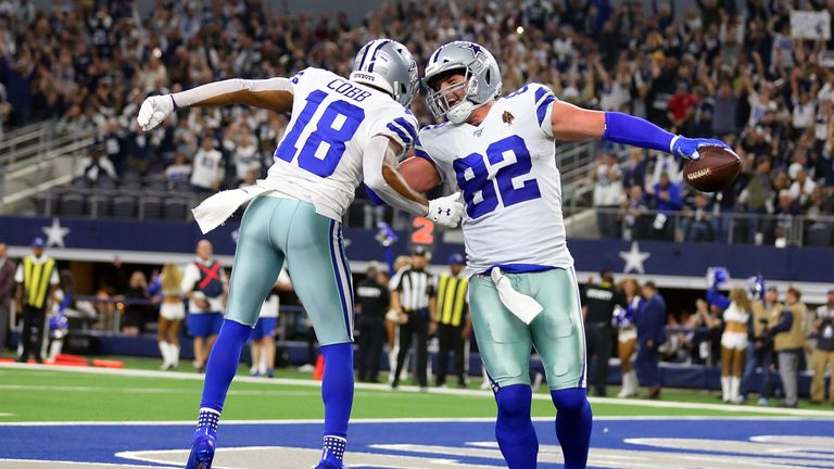 Jason Witten scored an early touchdown for the Cowboys