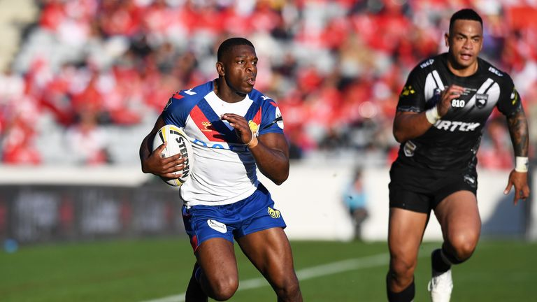 Jermaine McGillvary is the only other specialist winger in the Lions squad