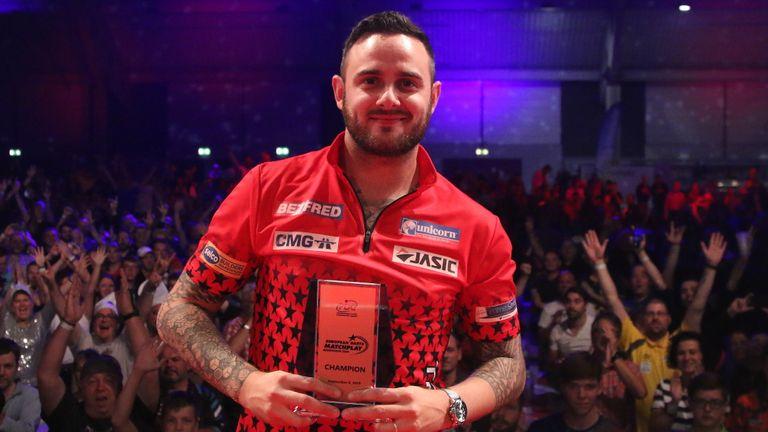 Joe Cullen won the European Darts Matchplay in Mannheim, Germany
