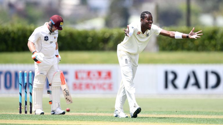 Jofra Archer should be fit for the third Test in South Africa from January 16