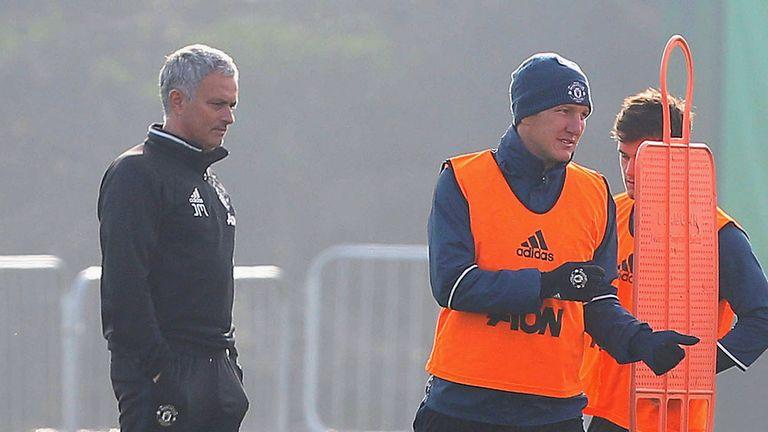 Mourinho had a keen interest in the Bundesliga, says Schweinsteiger