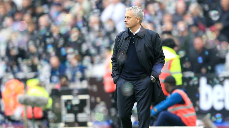 Mourinho revealed he is planning to rotate his team for next week's Champions League game against Bayern