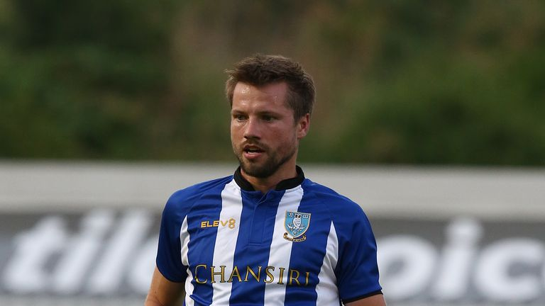 Sheffield Wednesday defender Julian Borner