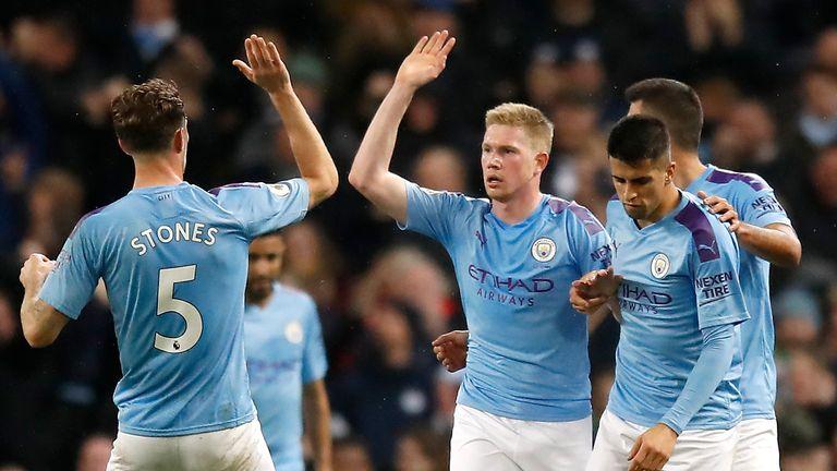 Kevin De Bruyne scored Manchester City's equaliser