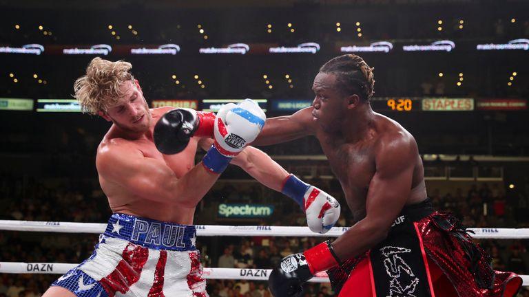 Logan Paul was beaten by KSI