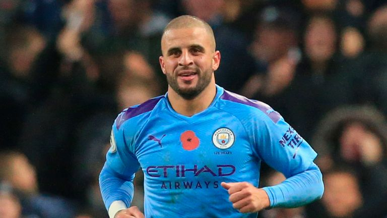 Kyle Walker struck with four minutes remaining against Southampton