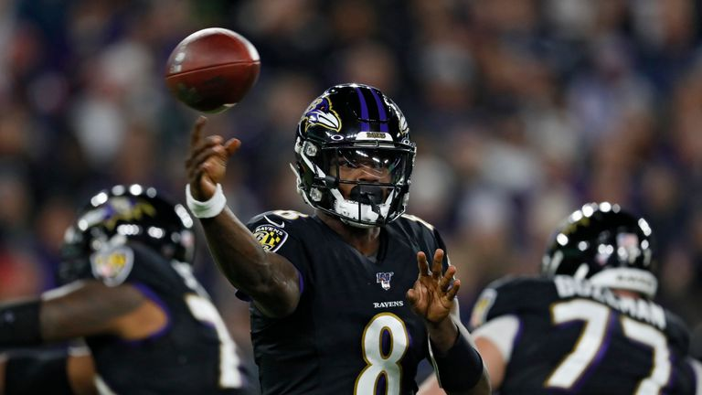 Lamar Jackson continues to make his MVP case