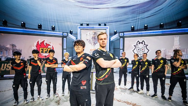 G2's Wunder says their Worlds finalist opponent FPX will get a 'reality check' next weekend. (Credit: Riot Games)