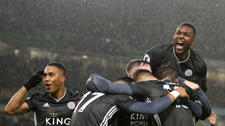 Leicester are eight points behind league leaders Liverpool