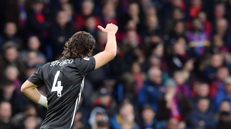 Caglar Soyuncu continues to take the Premier League by storm