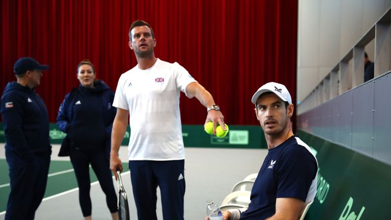GB captain Leon Smith may decide to rest Andy Murray