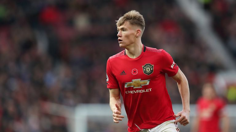 Scott McTominay is out with an ankle problem suffered against Brighton