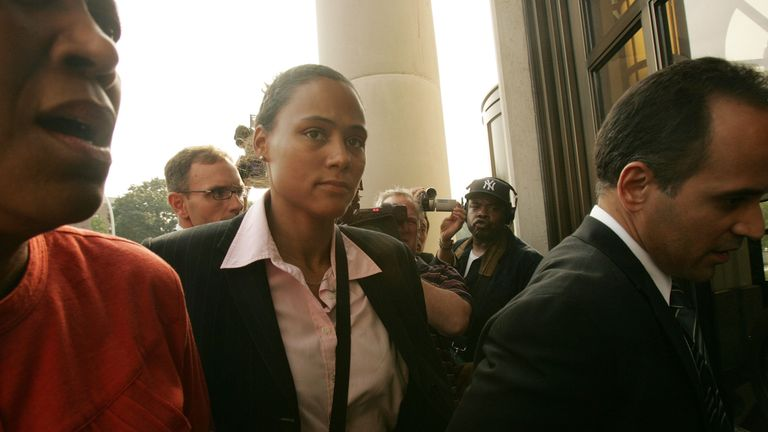 US athlete Marion Jones was stripped of the six Olympic medals she won in Sydney